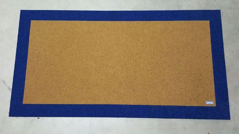 zerbin 351 colore beige con bordo perimetrale esterno colore 357 blu