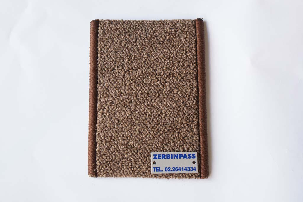 Passatoia bouclé art 281 marrone chiaro zerbinpass milano