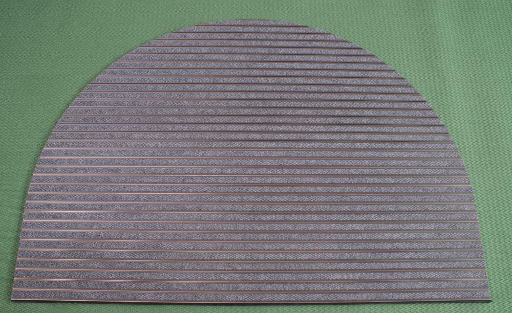 Zerbino Tecnico In Alluminio Zerbinstop Con Viti Incassate Con