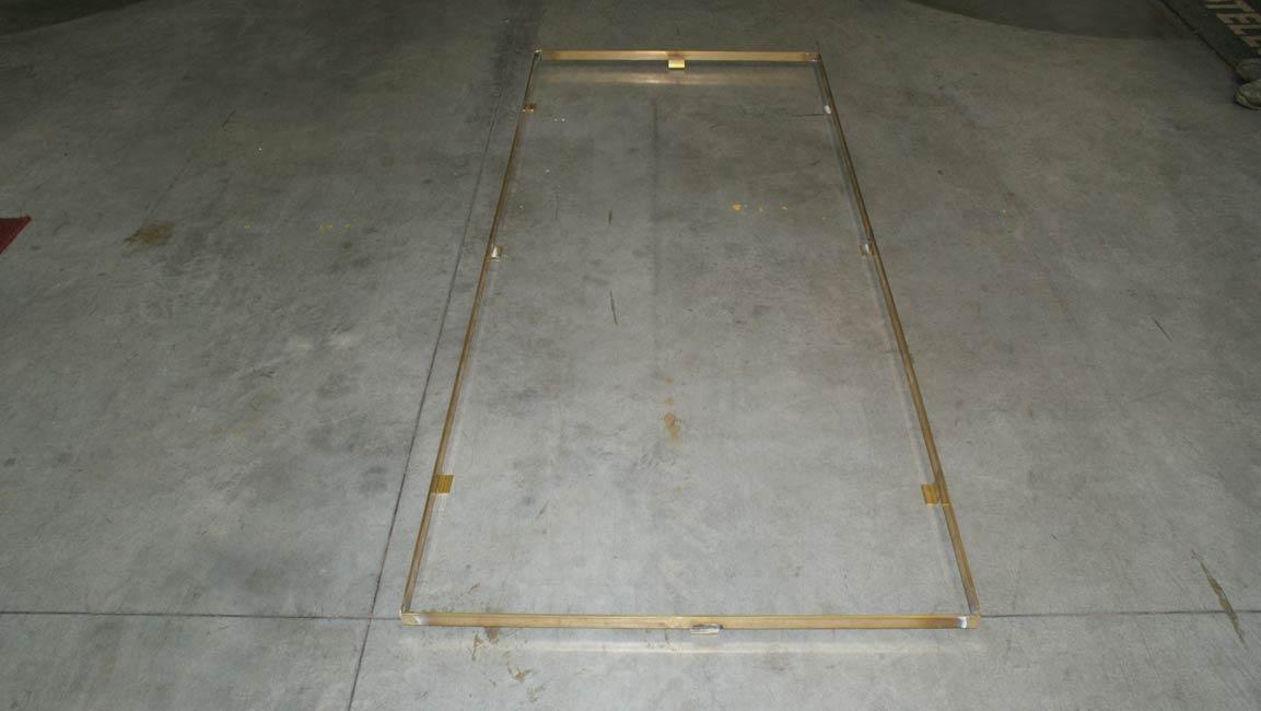 Accessori per zerbino e tappeto Art Telaio in ottone piatto