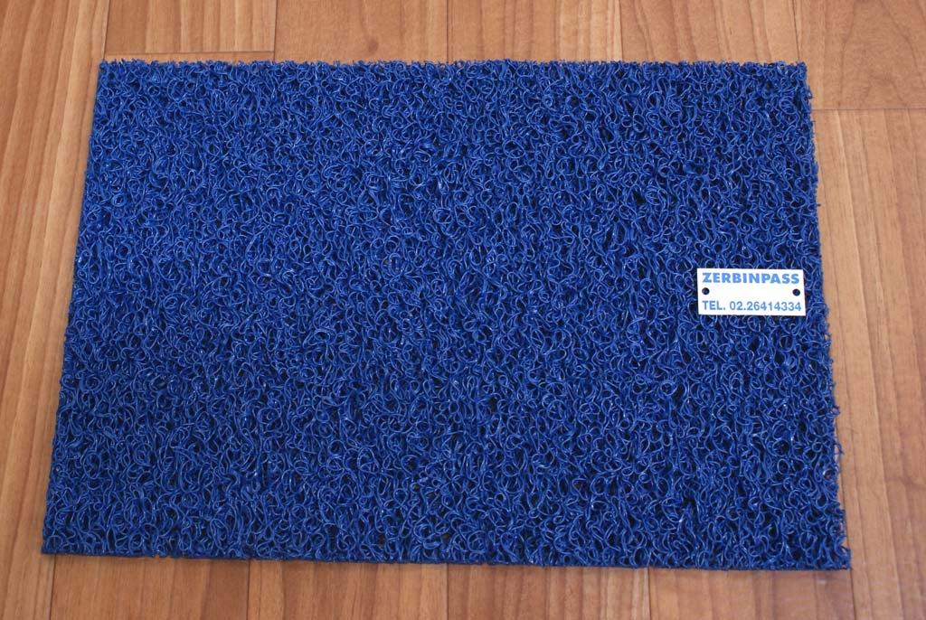 Zerbino ricciolo vinilici (Fax simile Nomad Terra 3M 8100) 1707 blu