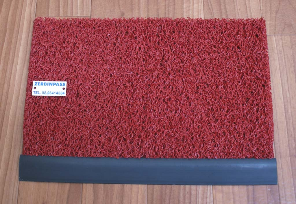 Zerbino ricciolo vinilico (fax simile nomad terra 3M 8100) 1702 rosso