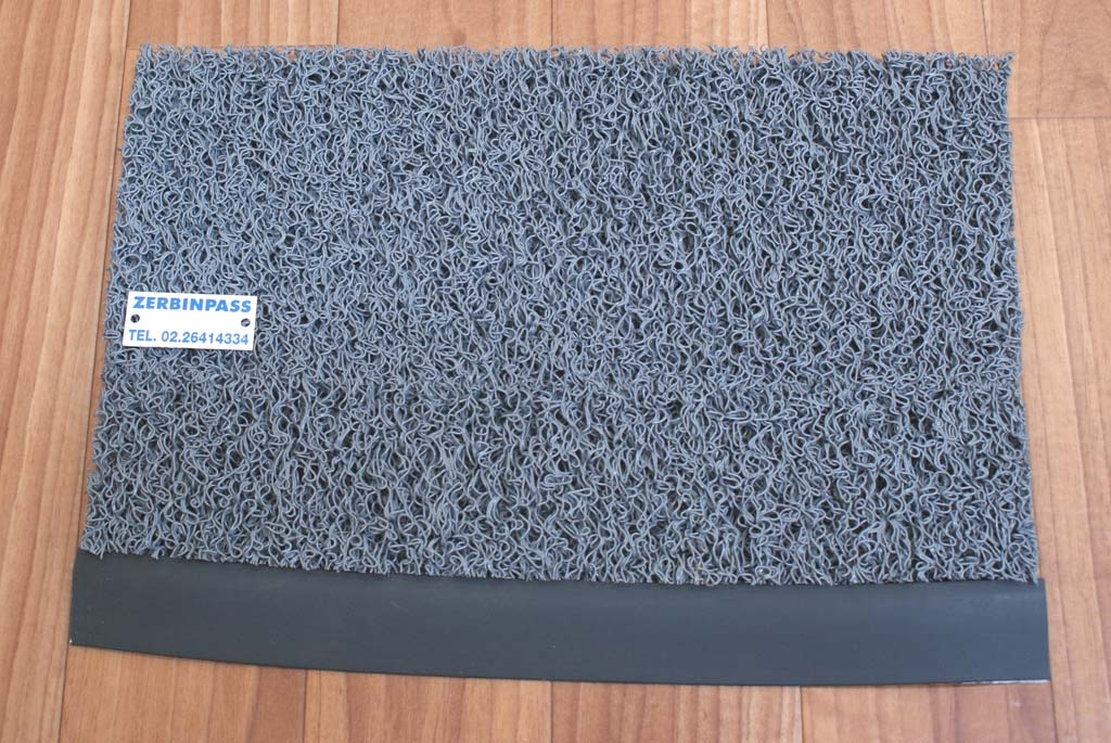 Zerbino ricciolo vinilico (Fax simile Nomad Terra 3M 8100) 1705C grigio chiaro