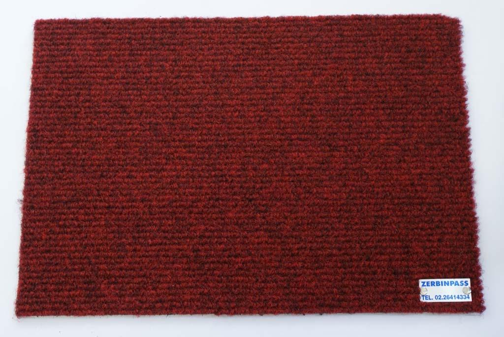 Zerbino sintetico Art 202 rosso