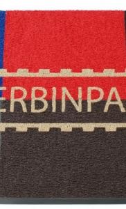 zerbino ricciolo vinilico vari colori personalizzato ad intarsio con logo zerbinpass , segrate , milano